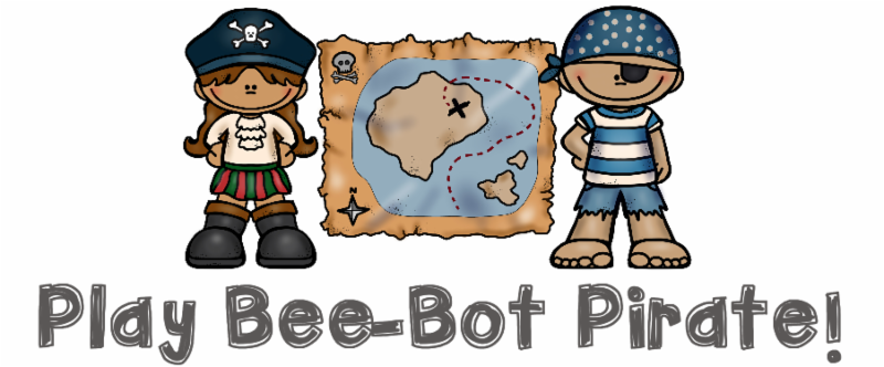 Bee-Bot Pirate Game from Suddenly it Clicks