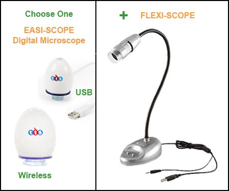Digital Microscope Combo Set