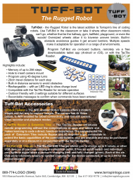 Tuff-Bot product sheet