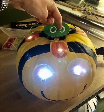 Pumpkin Bee-Bot