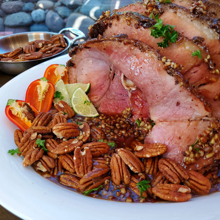 Sahuarita Christmas Ham by Chef Angela Staats.