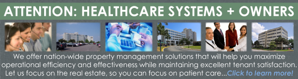 Medical Property Management Services