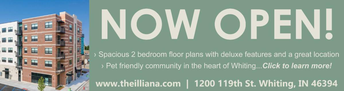 The Illiana residences are now open in Whiting Indiana