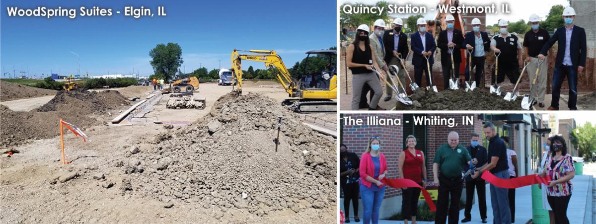 August 2020 development news collage