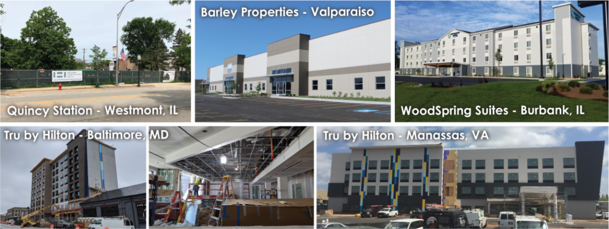 June development news collage