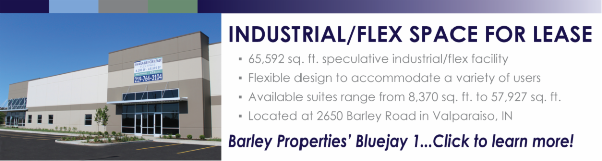 Industrial flex space for lease in Valparaiso Indiana