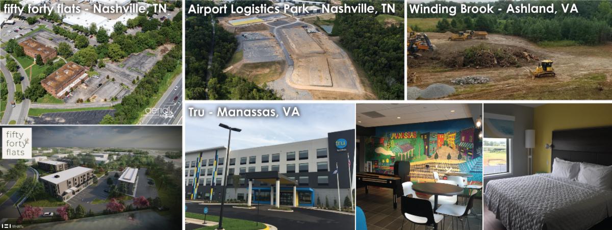 September development news collage