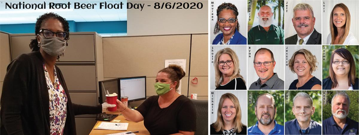 August community news collage
