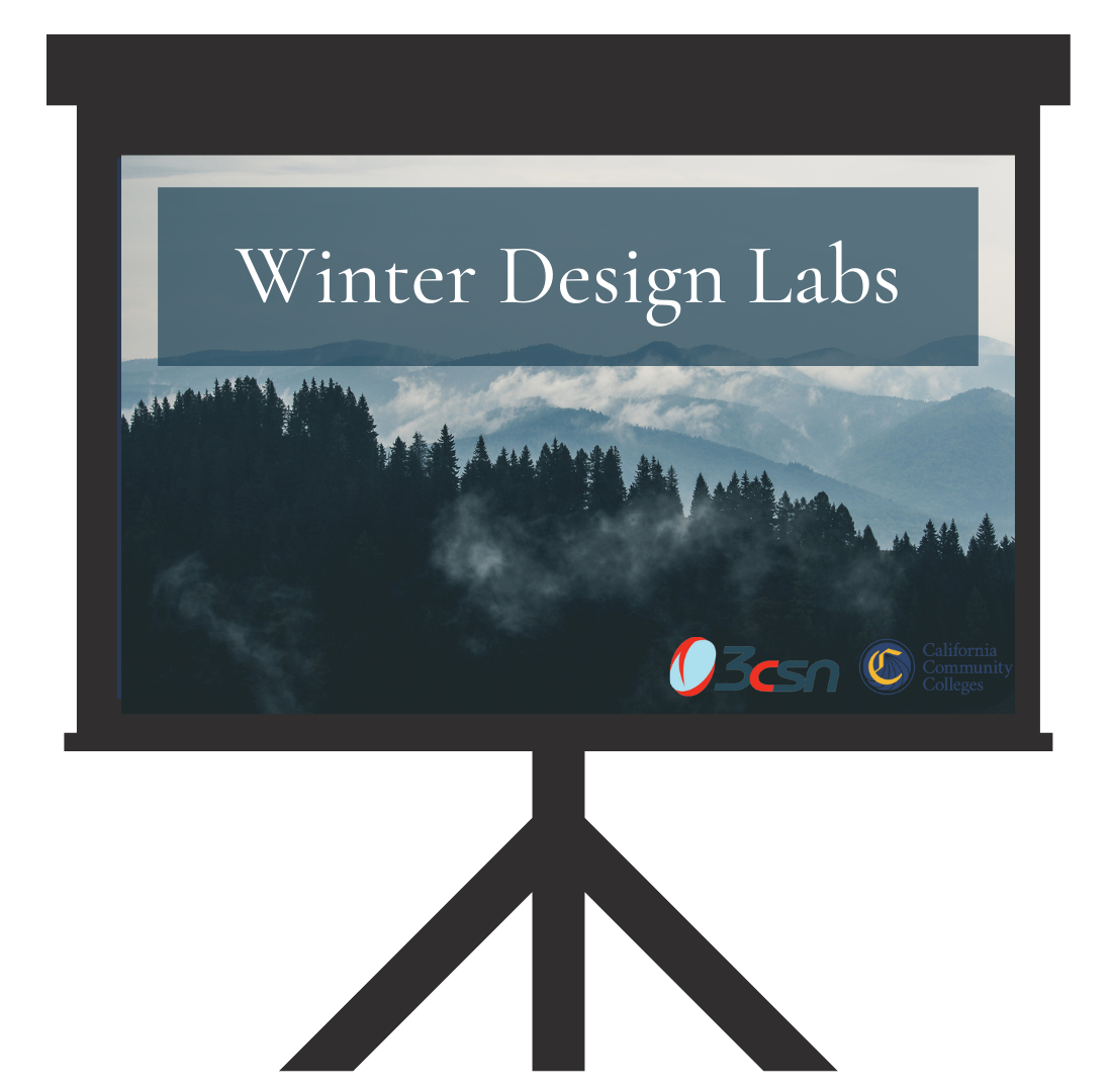 Winter Design labs on Screen