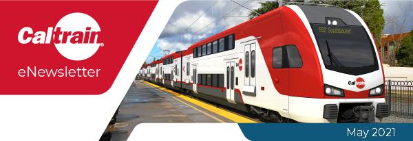 Caltrain eNewsletter banner