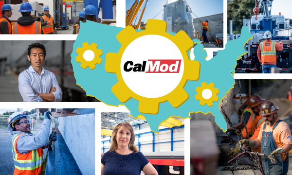 CalMod jobs picture collage