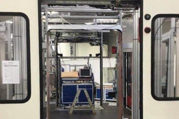 passenger side door test endurance rig