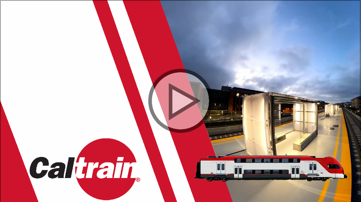 Video of the new Hillsdale Station