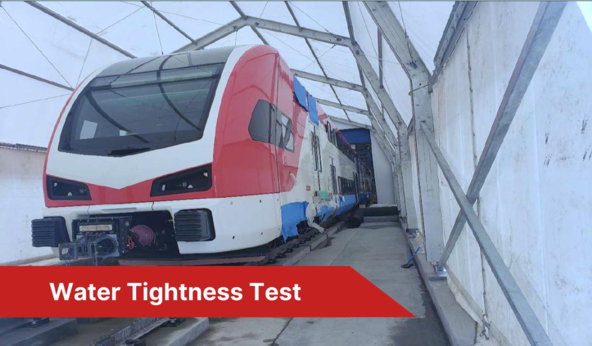 Water Tightness Test Tent