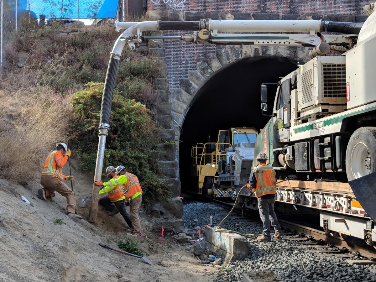 San Francisco Tunnels construction