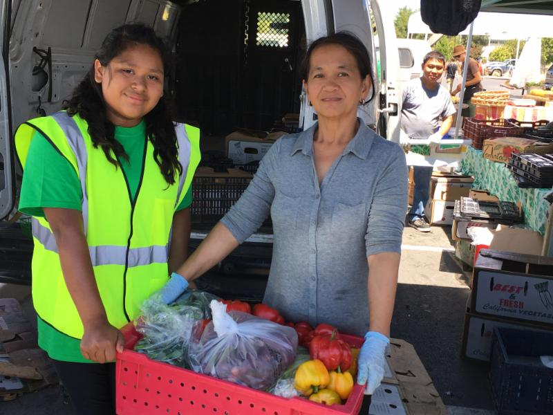 Farm to food bank