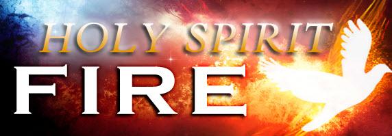 him gathering holy spirit fire