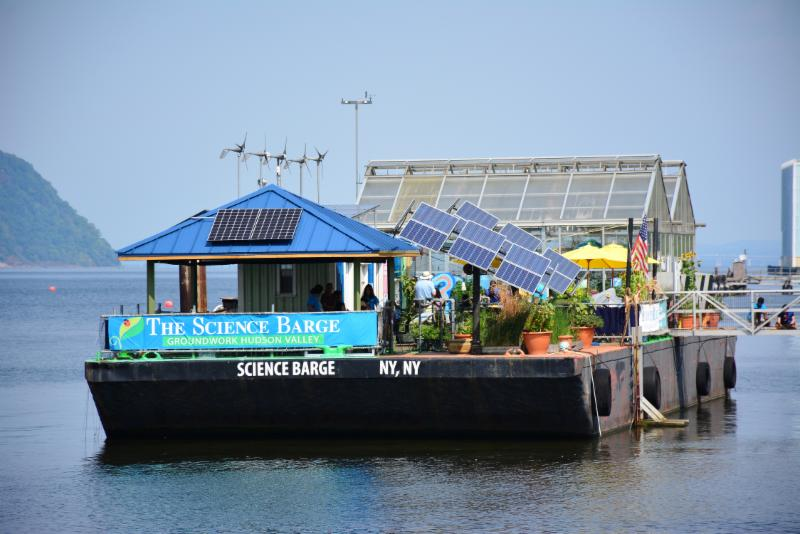 science barge new