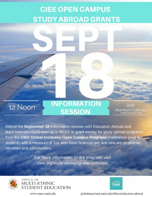 Attend Today's Information Session and Learn How to Earn Up