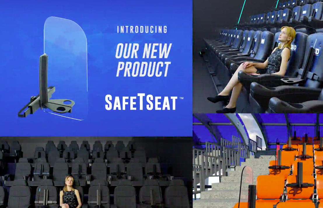 SafeTSeat with seats