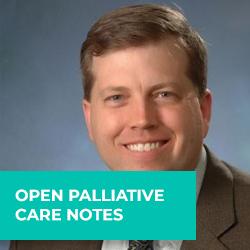 Open palliative care notes