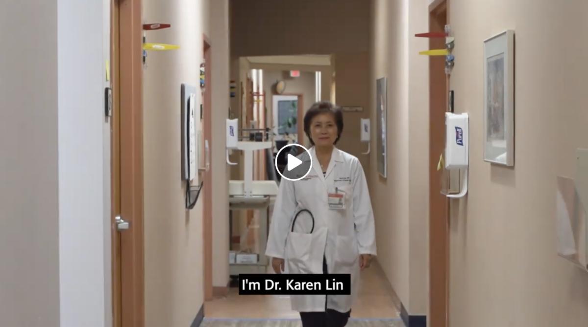 Dr. Lin profile screenshot
