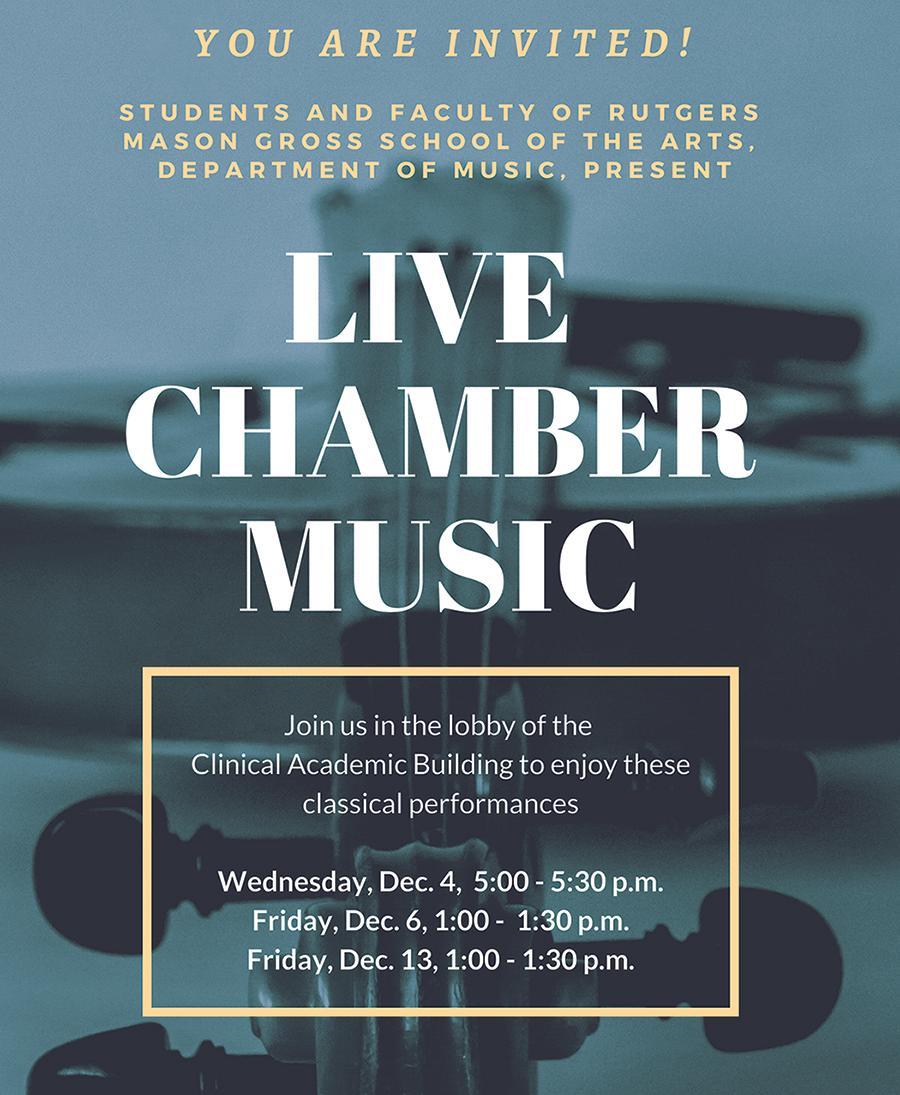 Chamber Music Promo