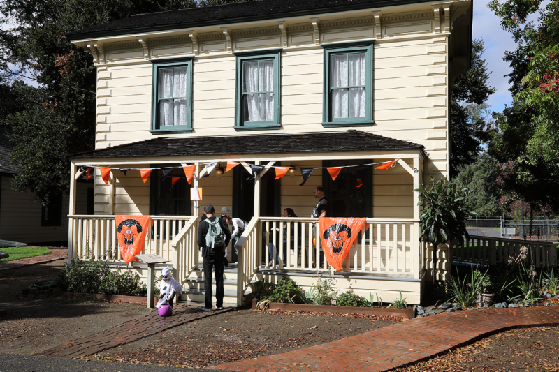 haunt trick or treat house