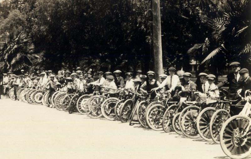 San Jose Bicycle Day 1923