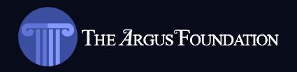 The Argus Foundation Logo