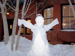 Newman Snow Student