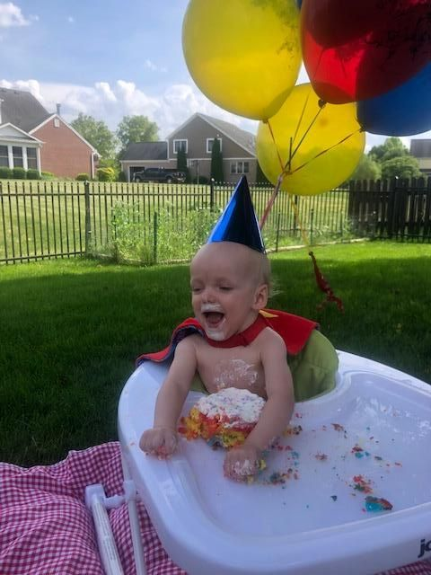 Little Ian celebrated his 1st birthday