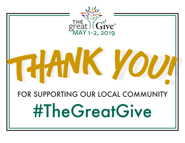 The Great Give 2019
