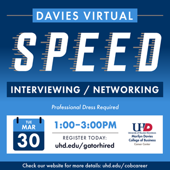 Davies Virtual Speed Networking