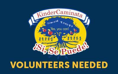 KinderCaminata Looking for Volunteers