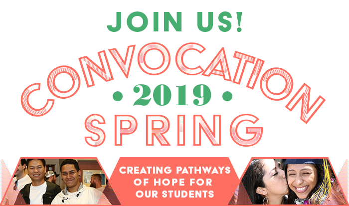 Join us at Spring Convocation