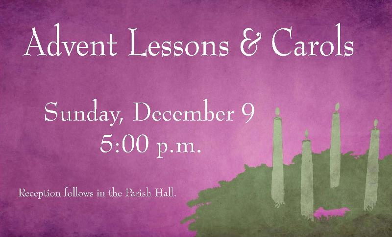 Advent Lessons and Carols