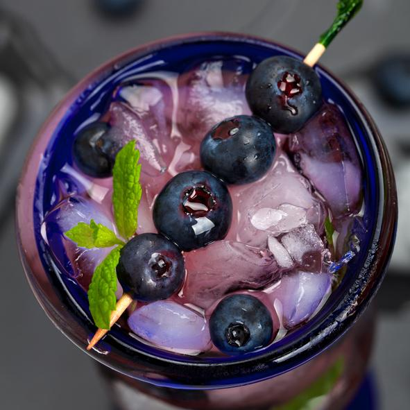 Blueberry Lavender Lemonade Cocktail photo