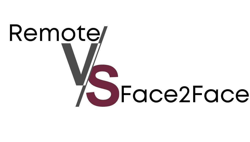 Graphic Remote vs Face to Face