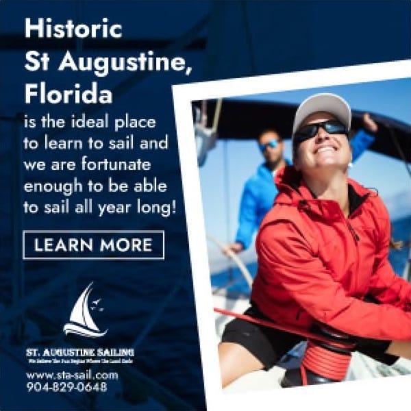 AD: St Augustine Sailing