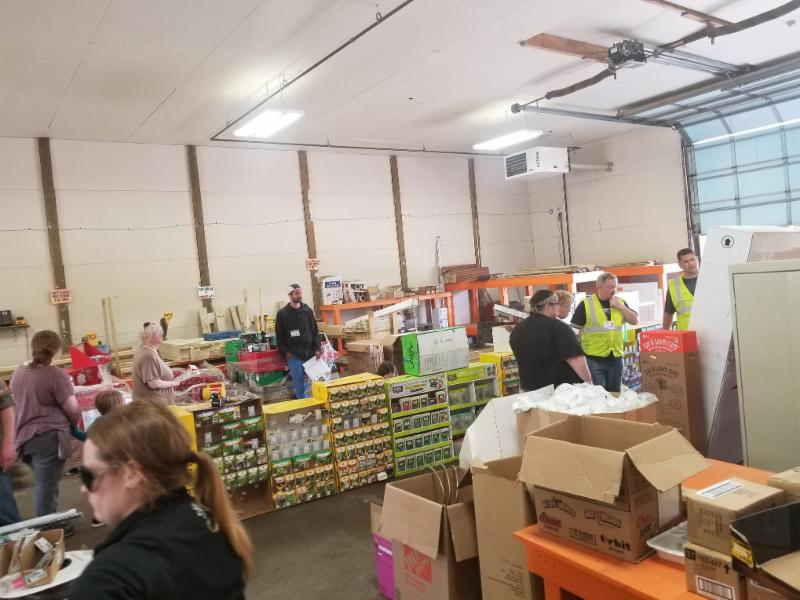 Photo of flea market
