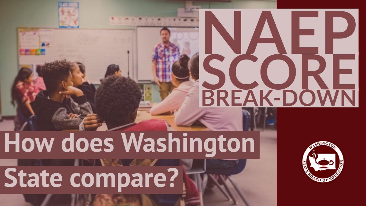 NAEP score break-down