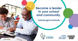 Census in schools photo: become a leader in your school and community