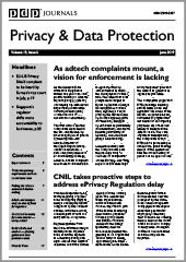 Latest edition of Privacy & Data Protection Journal