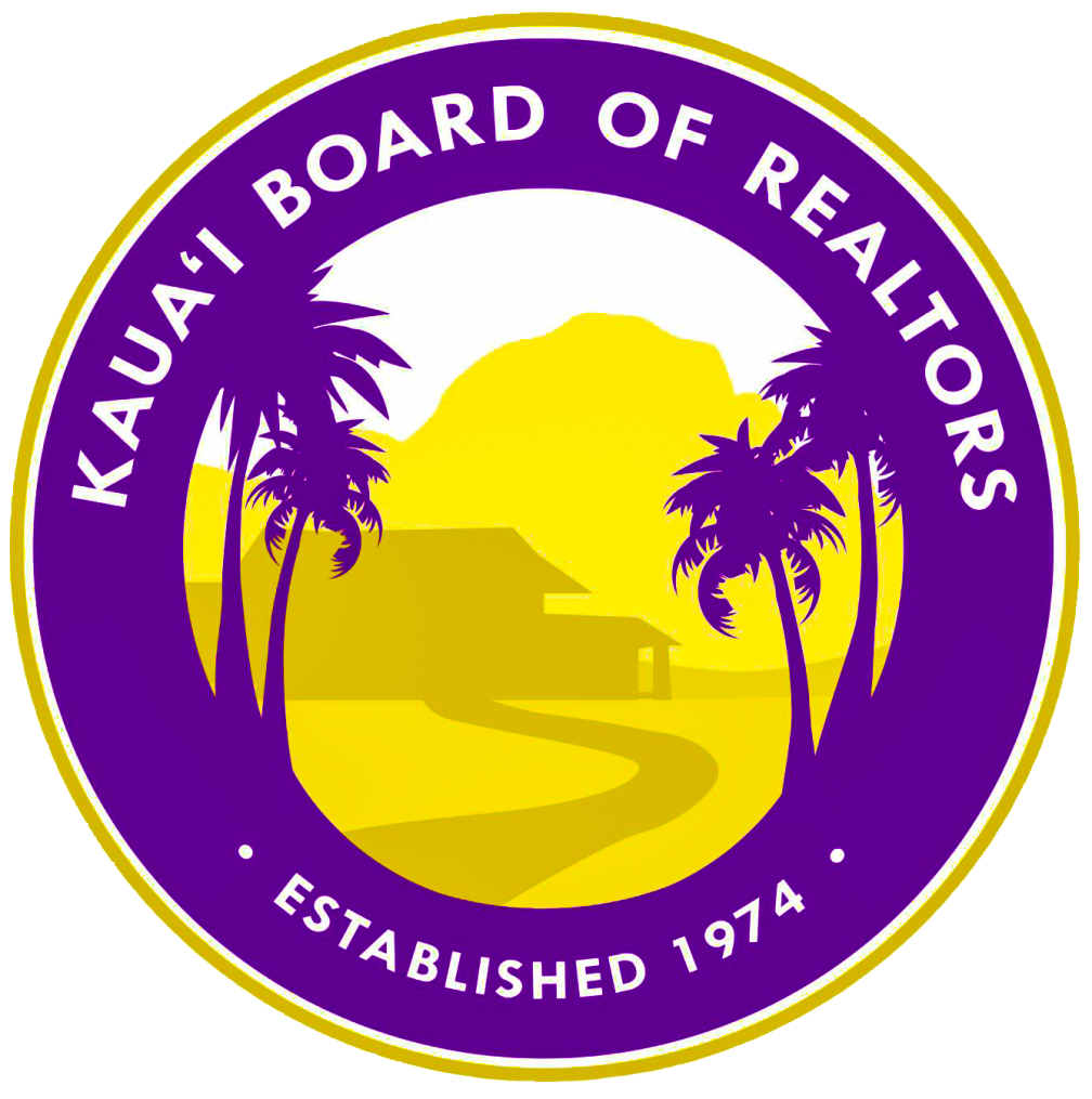 Logo for Kauai Board of Realtors (KBR)
