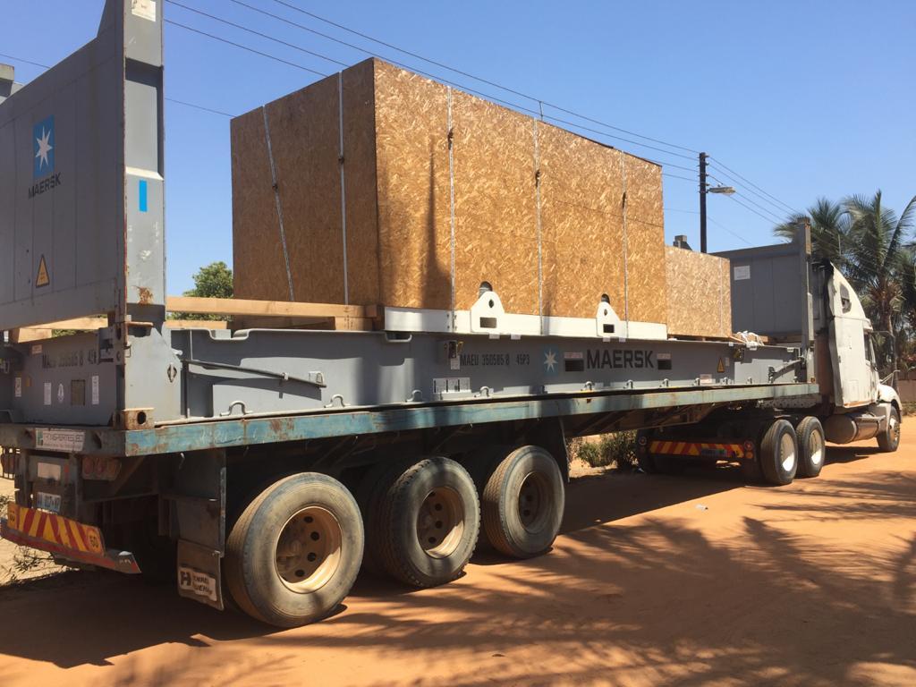 Oxygen generator on truck