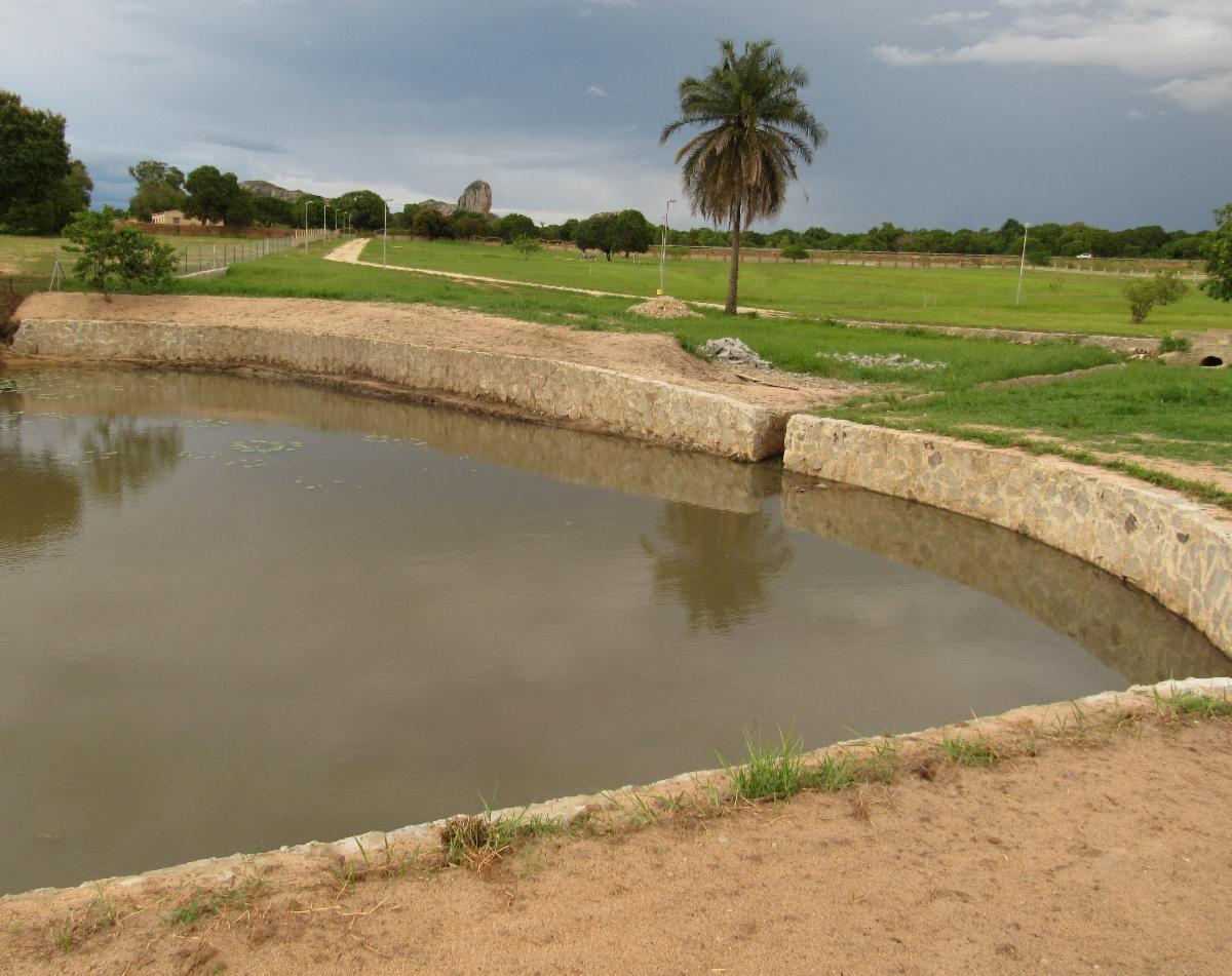Reservoir at Quinta Graca