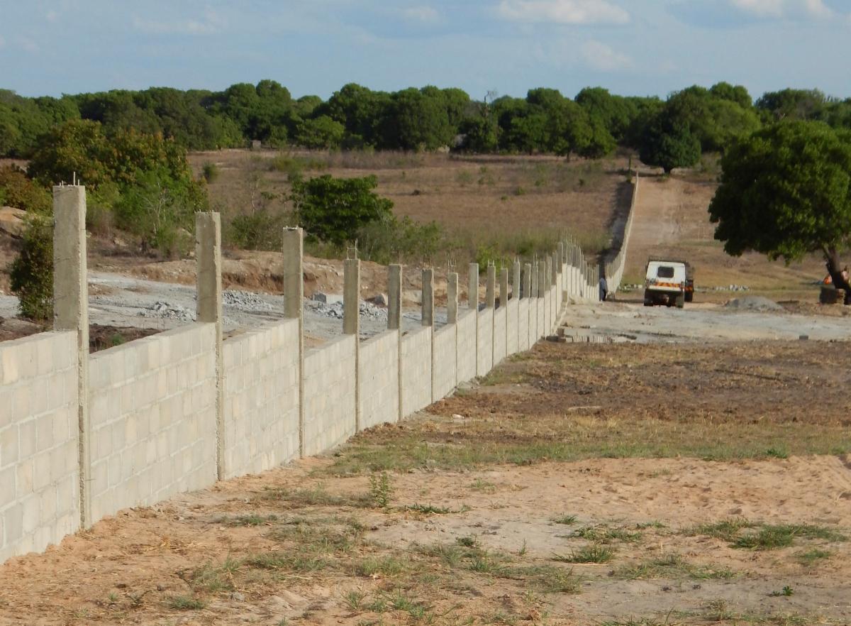 Quinta Graca east wall