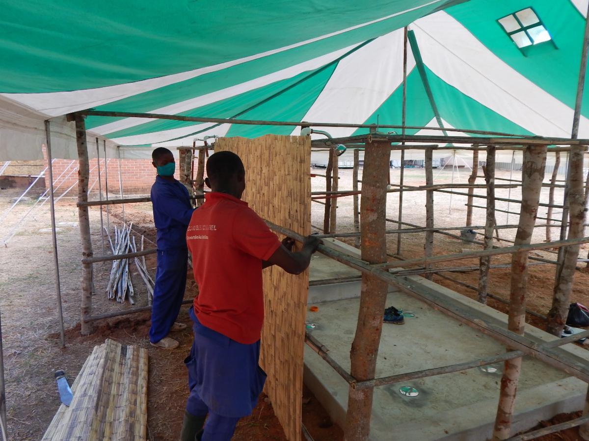 Building bath house