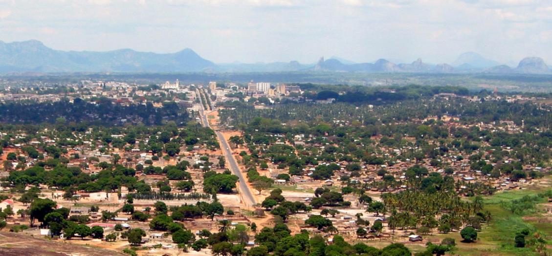 Aerial view of Nampula